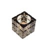 Świecznik Tealight Holder Cube szary