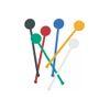 Mieszadełko (stirrer), mix kolorów, 18,5cm, 200szt