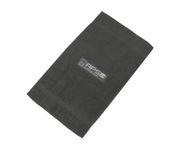 Ręcznik barmański APS, czarny, 100% bawełna 52x29cm