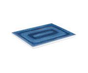 Talerz z melaminy APS BLUE OCEAN GN 1/2, 32,5x26,5cm