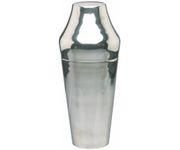 Shaker 2-częściowy 1700ml, stal nierdzewna, polerowany, posrebrzany