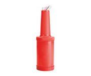 Butelka do soku Store N` Pour, 1L, czerwona