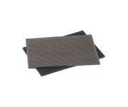 Mata barowa, gumowa, czarna, 45x30x1,5cm