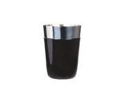Shaker bostoński mały, okleina winylowa, czarny, 400ml