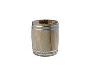 Beczułka na sztućce/przybory Country Style, drewniana, średnica: 11,5cm, wysokość: 14cm