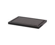 Deska do krojenia, czarna, 30x20x2cm