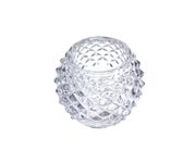 Świecznik Tealight Holder Bowl przeźroczysty 6cm