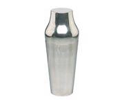 Shaker 2-częściowy, polerowany, posrebrzany, 700ml