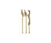 Mieszadełko (stirrer) Jazz, złote, 15cm, 200szt