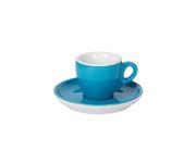 Filiżanka do espresso 55ml APS Colored Sets, kolor morski (ze spodkiem)