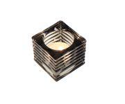 Świecznik Tealight Holder Square szary 5,5cm
