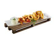 Paleta do serwowania potraw 40x15cm, drewniana