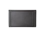 Deska do krojenia czarna, antypoślizgowa 35x23,5cm