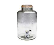 Słój szklany z plastikowym kranikiem Punch Barrel 5L