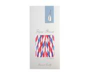 Słomki Rurki cocktailowe Jumbo, papierowe, wzór niebiesko-biało-czerwone