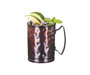Kubek miedziany Copper Mug Pressed Julep Roller 414ml
