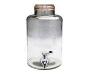 Słój szklany z plastikowym kranikiem Punch Barrel 8L