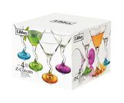 Zestaw Z-Stem Martini, kolorowe stopki (4 elementy)