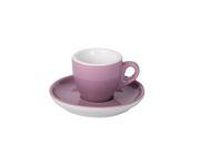 Filiżanka do espresso 55ml APS Colored Sets, fioletowa (ze spodkiem)