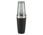 Shaker bostoński duży, okleina winylowa, czarny, 800ml (bez szklanicy)