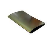 Płatnik/Etui na rachunek PREMIUM, kolor brązowy, połysk 11x19cm