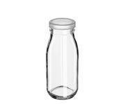 Butelka szklana 250ml do lemoniady, milk shaków, smoothies, z zamknięciem