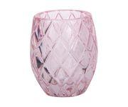 Świecznik Tealight Holder Votive różowy, 10cm