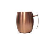 Kubek stalowy Round Julep Mug, pokryty miedzią 400ml