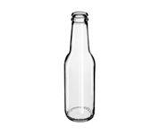 Szklana Butelka 200ml, śr. 5cm, wys. 18cm