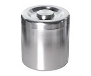 Pojemnik na lód, aluminiowy, okrągły, 5L