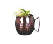 Kubek miedziany Copper Mug Pressed Julep Barrel 414ml