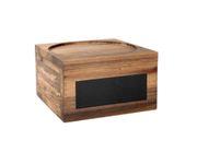 Stojak drewniany na słój z kranikiem 8, 5L, z tabliczką