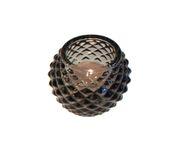 Świecznik Tealight Holder Bowl szary 6cm