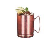 Kubek miedziany Copper Mug Julep Roller 414ml