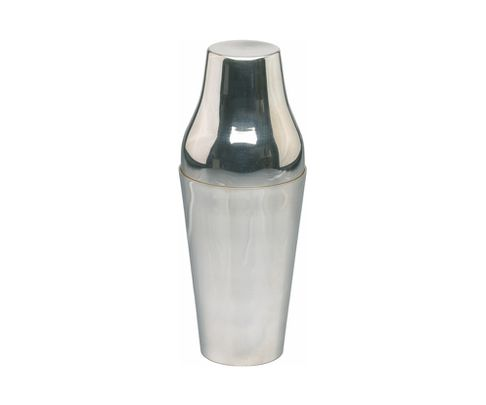 Shaker 2-częściowy 500ml, stal nierdzewna, polerowany, posrebrzany