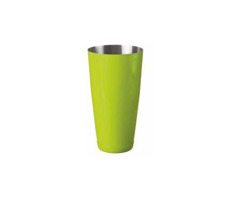 Shaker bostoński duży, lakierowany, zielony, 800ml (bez szklanicy)