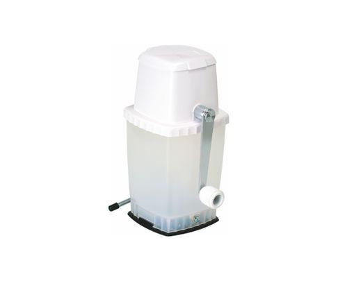 Kruszarka do lodu z przyssawką, biała
