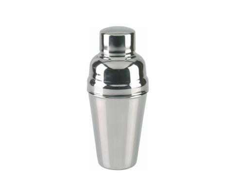 Shaker francuski 3-częściowy, polerowany, 550ml