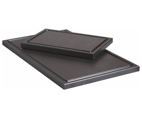 Deska do krojenia, czarna, 50x30x2cm