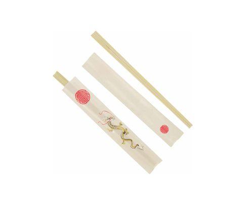 Pałeczki bambusowe Dragon, 21cm, 50szt