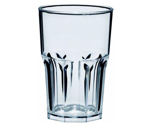 Szklanka wysoka z poliwęglanu Semi Glass 414ml