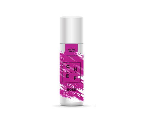 Barwnik zamszowy w sprayu Chef Ingredients (Velvet Spray) - różowy 250ml