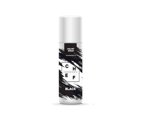 Barwnik zamszowy w sprayu Chef Ingredients (Velvet Spray) - czarny 250ml