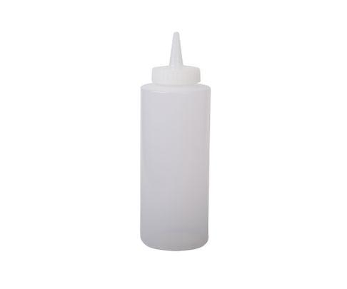 Squeeze Bottle, średnia, bezbarwna, 335ml