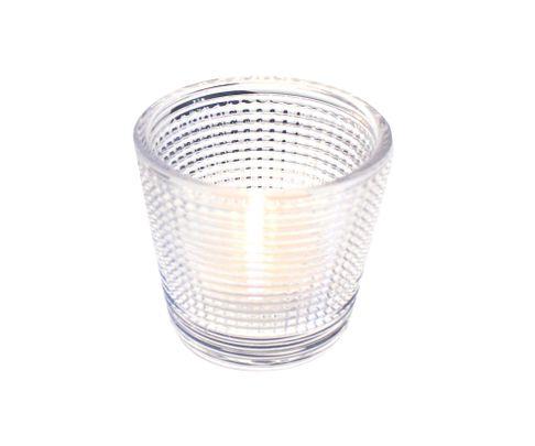 Świecznik Tealight Holder przeźroczysty