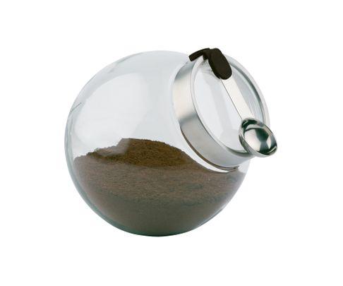 Pojemnik szklany z magnetyczną łyżeczką
