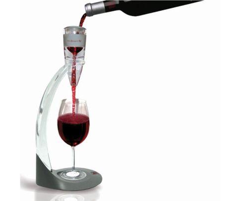 Aerator, zestaw do napowietrzania wina (areator, wieża, stojak i pokrowiec)