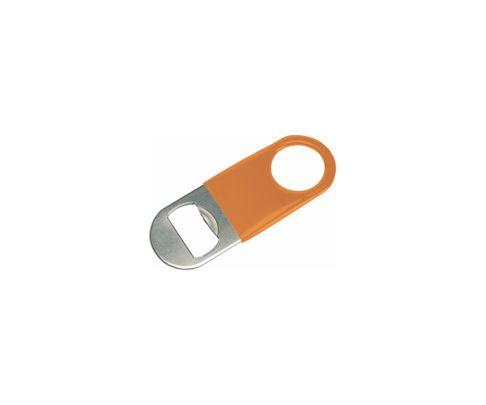 Otwieracz do butelek typu speed mini, okleina winylowa, pomarańczowy
