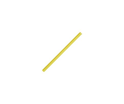 Słomki Rurki cocktailowe, żółte, 15cm, 250szt