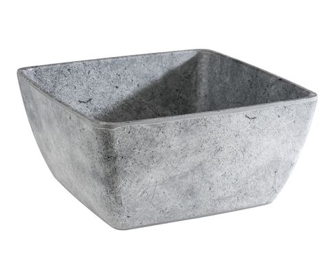 Miska kwadratowa z melaminy APS ELEMENT 3000ml, 25x25cm